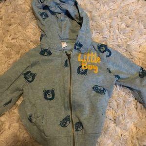 Zara 12/18M hoodie